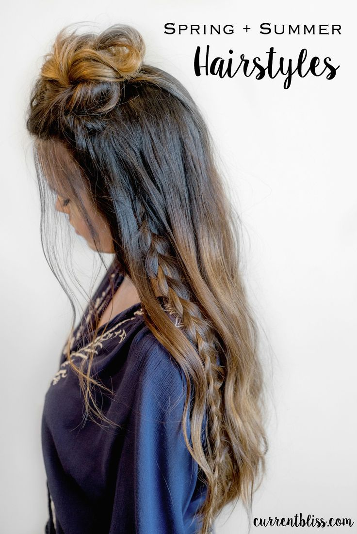 Pinterest-Inspired Hairstyles for Spring + Summer
