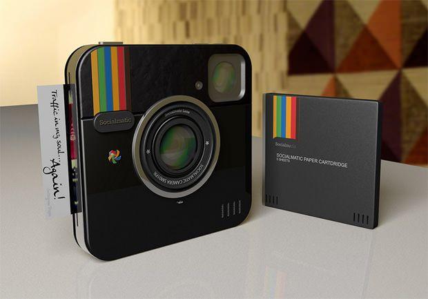 Instagram Socialmatic concept camera