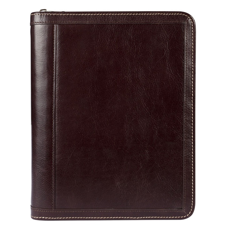 Classic Vintage Leather Binder