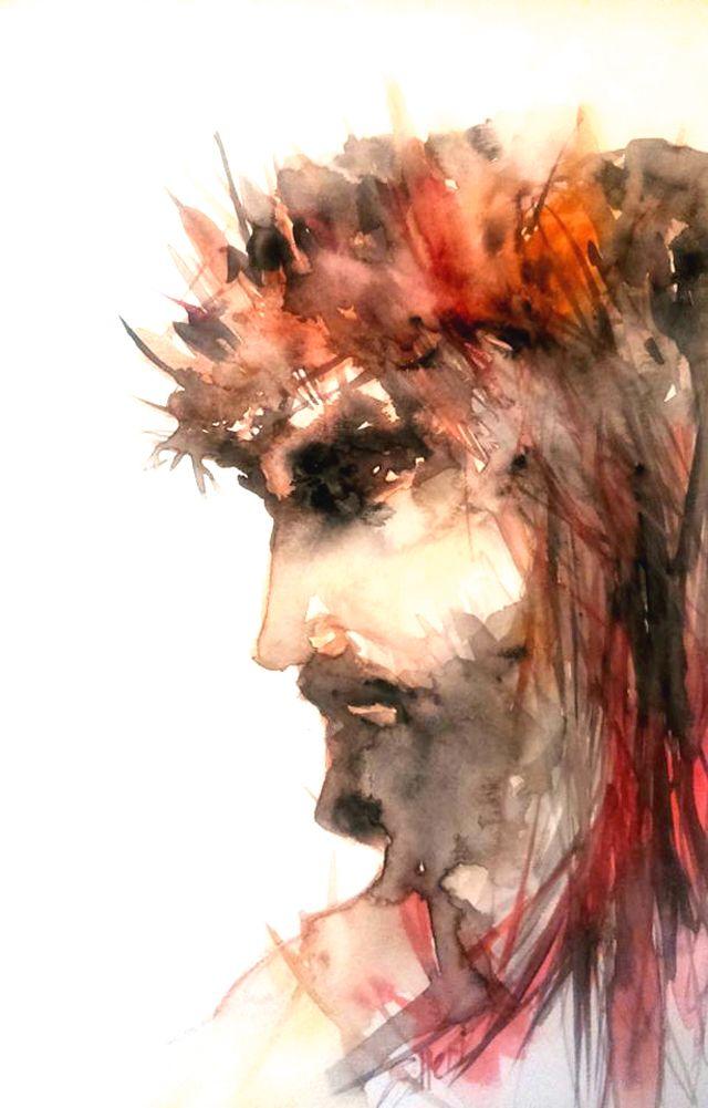 """Give me feedback on """"jesus"""", a work-in-progress on @Behance :: http://be.net/wip/1789001/3007309"""