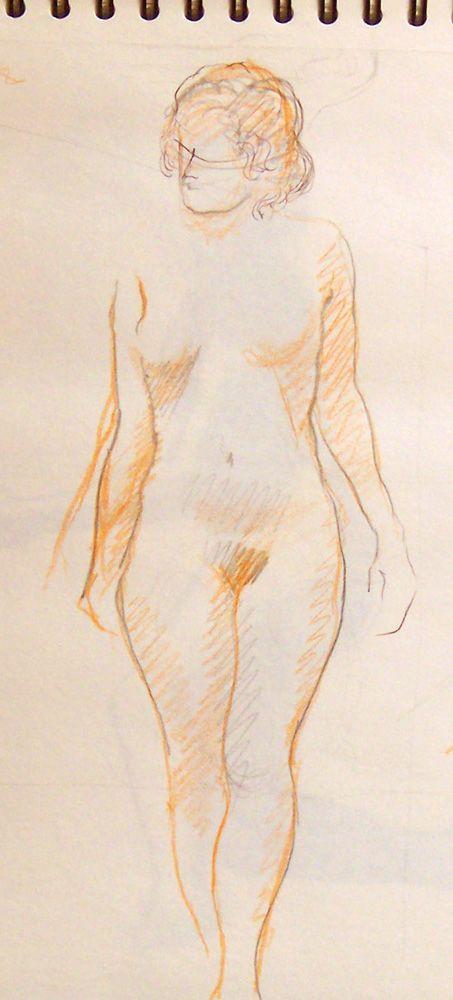 Estudio de figura femenina 2