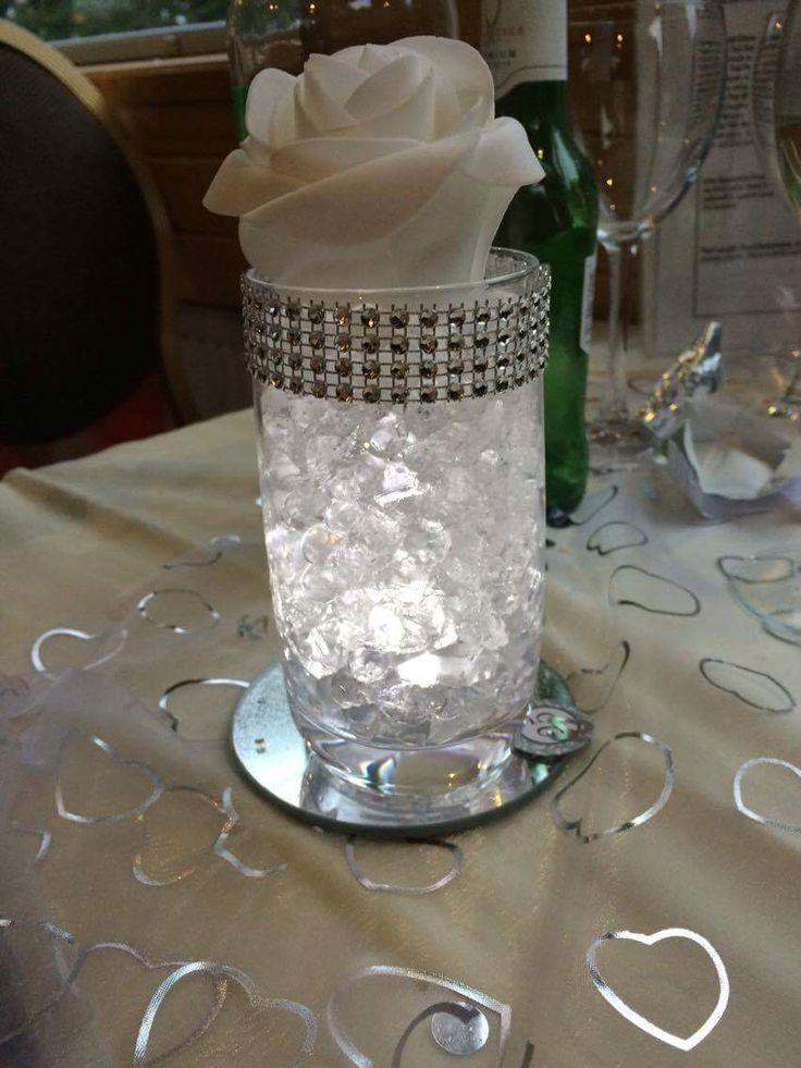 71 best images about silver wedding party ideas on for 25th anniversary decoration