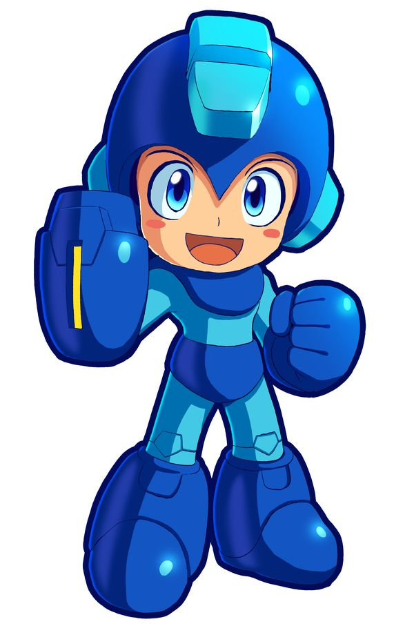 Megaman Powered Up by ultimatemaverickx