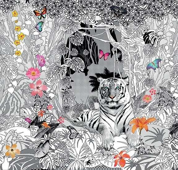JungleLUX - Carta da parati originale.