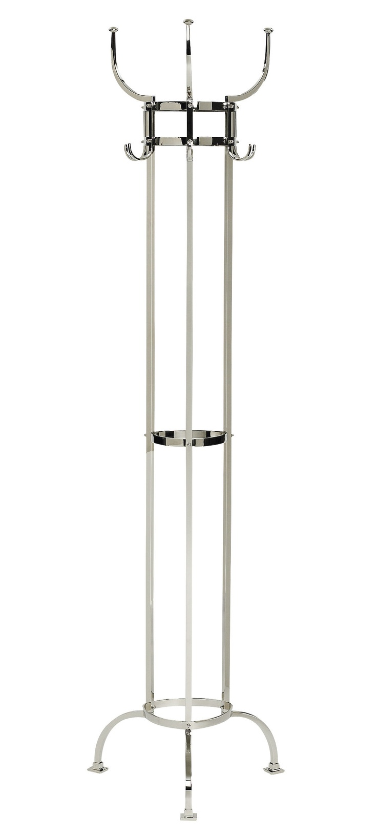 Germany. Nymphenburg Coat Stand, 1908 // designed By Munich-based Otto Blumel, is a classic example of Jugendstil, avoiding the fussy excess of some Art Nouveau decoration. (From The Design Book)
