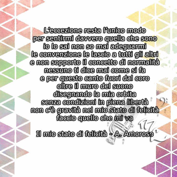 Il mio stato di felicità - Alessandra Amoroso https://www.facebook.com/musicorner/