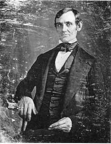 the first known Lincoln photo taken in c.1846.