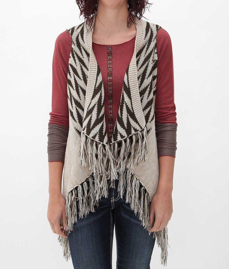 Daytrip Open Weave Sweater Vest - Women's Vests | Buckle | Boho ...
