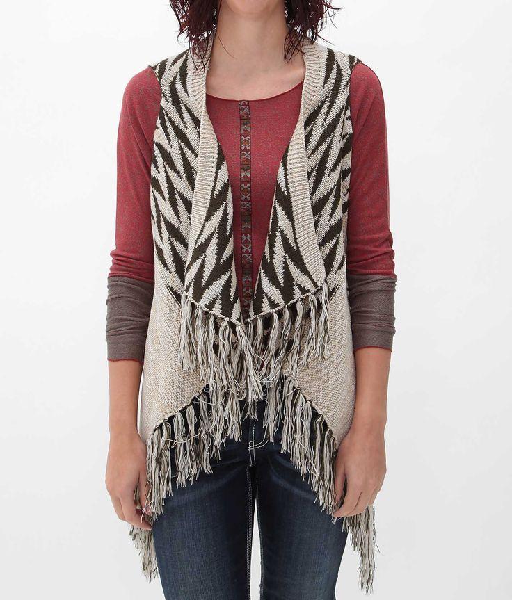 Daytrip Open Weave Sweater Vest - Women's Vests | Buckle | Boho ...
