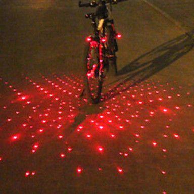 Luzes de Bicicleta , Luzes da cauda / luzes de fim de bar / Luzes de Bicicleta - 4 ou mais Modo Lumens alarme / multi-ferramenta Bateria de 2016 por €19.59