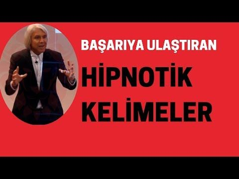 BAŞARIYA ULAŞTIRAN HİPNOTİK KELİMELER - YouTube