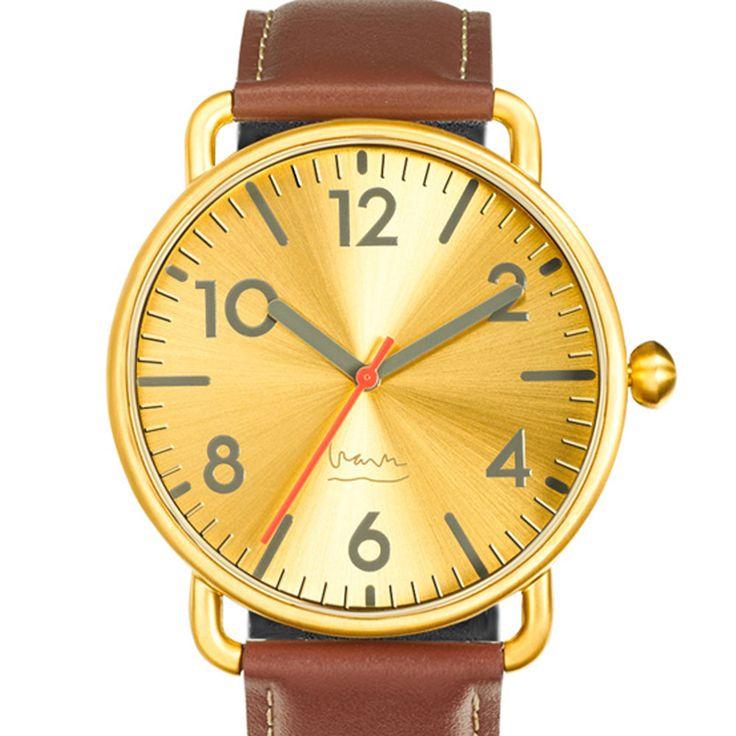 """Ecco il nuovo """"Witherspoon Brass"""" di Projects Watches, in vendita a 118 euro, per info ed acquisti clicca qui http://www.orologichepassione.it/catalogo.php?marca=27 Witherspoon Brass fa della semplicità e della cura dei dettagli i suoi punti di forza.  Stile minimale, qui il tempo non si può fraintendere. Caratterizzato anche dai grandi numeri con indici in rilievo, è uno degli orologi che apprezziamo di più.  Here's the new """"Witherspoon Brass"""" of Projects Watches, for sale at 118 €"""