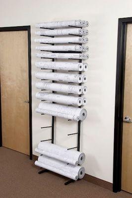 Brookside Design Vis I Rack Blueprint Storage Vr864