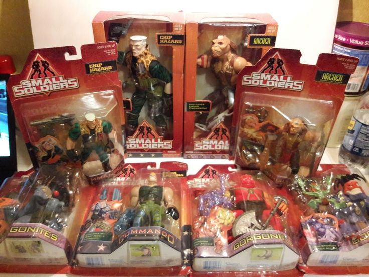 Vintage 1998 Small Soldiers Toy Hasbro Lot New in Packaging Chip Hazard Archer  #Hasbro