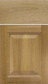 Natural Alder Door with a Step Bevel Raised Panel [ Inside: Step Bevel Profile] M and J Woodcrafts - Your Wholesale Cabinet Door Manufacturers