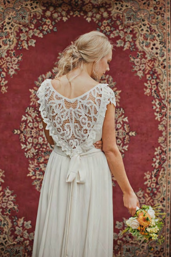lace back wedding Beautiful Dress