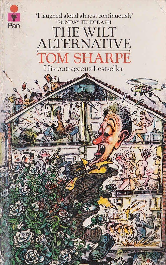 Tom Sharpe THE WILT ALTERNATIVE<BR> Pan rpt.N/D front cover image