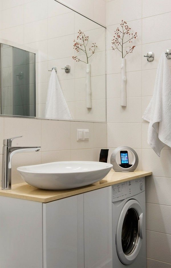 1000 ideas about laundry in bathroom on pinterest utility room ideas washer dryer closet and. Black Bedroom Furniture Sets. Home Design Ideas