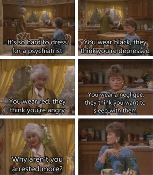"""""""I'm Blanche Devereaux, honey, sex is a gift to me!"""""""