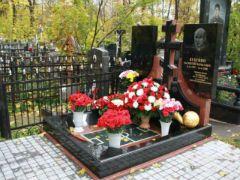 Элитный памятник на Ваганьковском кладбище