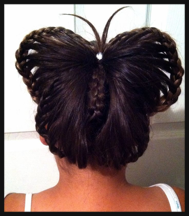 Butterfly Hair Braid Hair Styles Pinterest