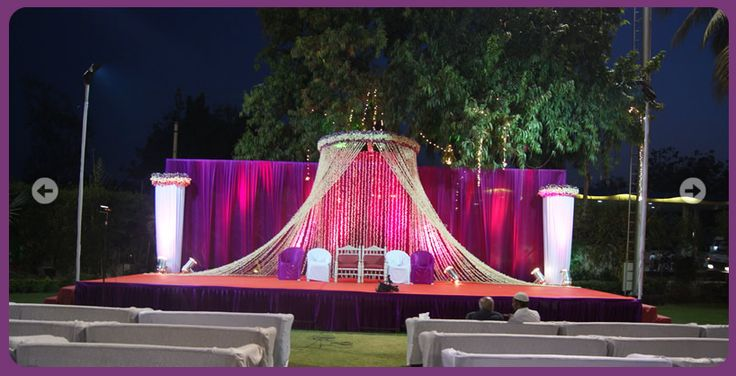 Indian Wedding Reception Ideas   Indian Wedding and Reception Stage Decorations