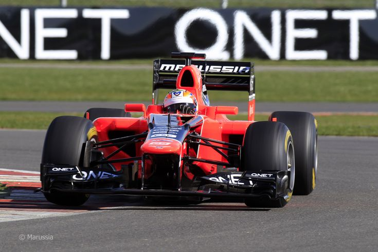 2012 Marussia MR01 - Cosworth (Timo Glock)