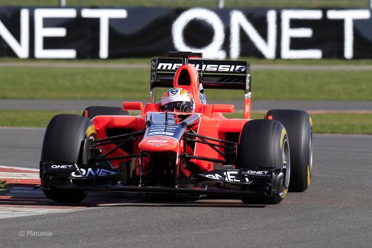 2012 Marussia MR01 - Cosworth (Timo Glock)