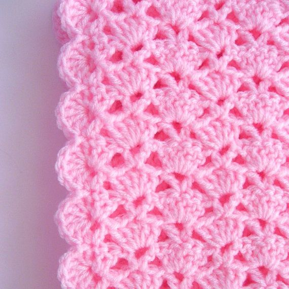 PDF Pattern Crocheted Baby Afghan CAR SEAT by thejewellshandmades