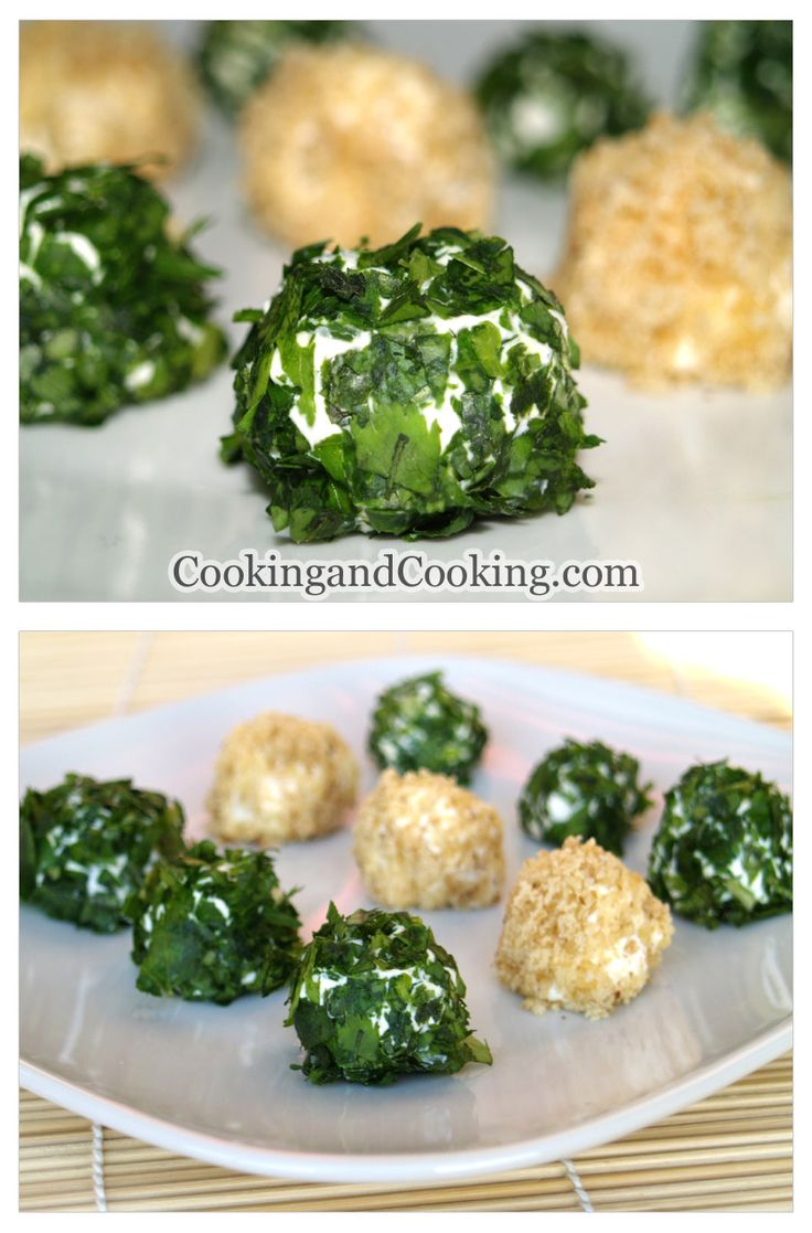 Cheese ball recipe never thought to make them inidual sized