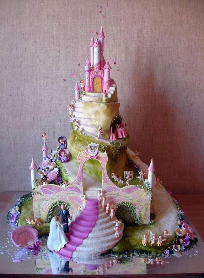 gâteau conte de fée