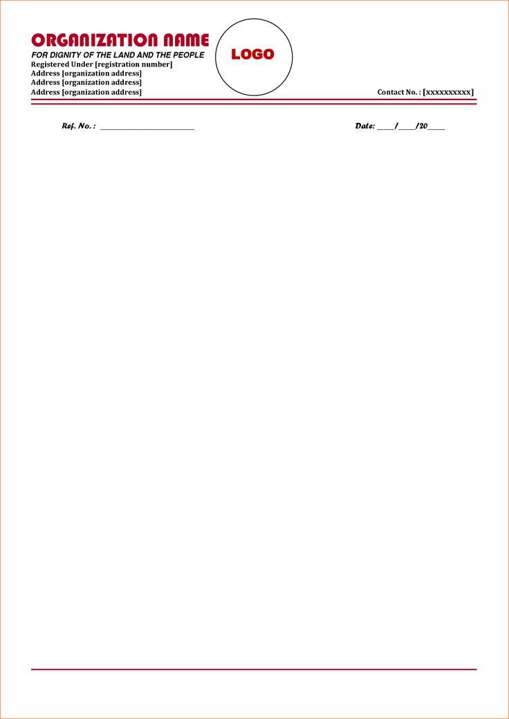 Contoh Letterhead Ngo Yahoo Image Search Results Company Letterhead Company Letterhead Template Letterhead