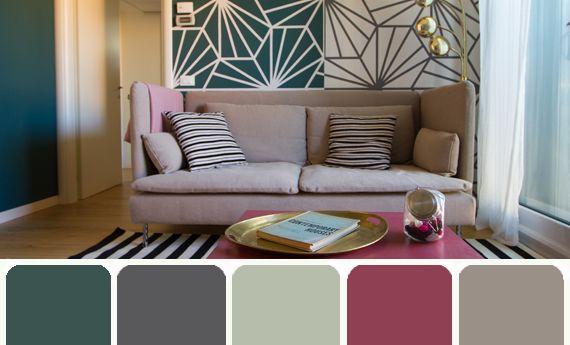 Colori delle pareti, la palette per una casa moderna | Artiste per casa