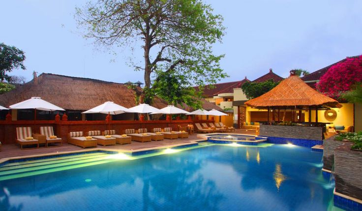Alam Kulkul Boutique Resort is a beach front boutique resort with Balinese architecture, tropical garden set in Kuta where Bali Star Island offers best rate
