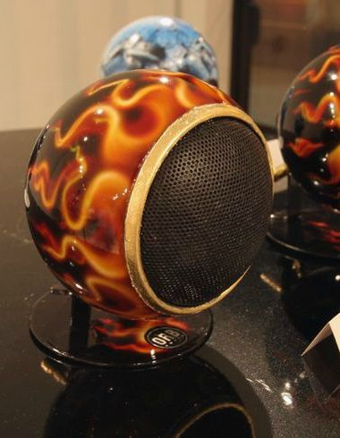 25 best orbs with attitude images on pinterest audio speakers these custom painted orb audio speakers are smokin hot these speakers are more than sciox Images