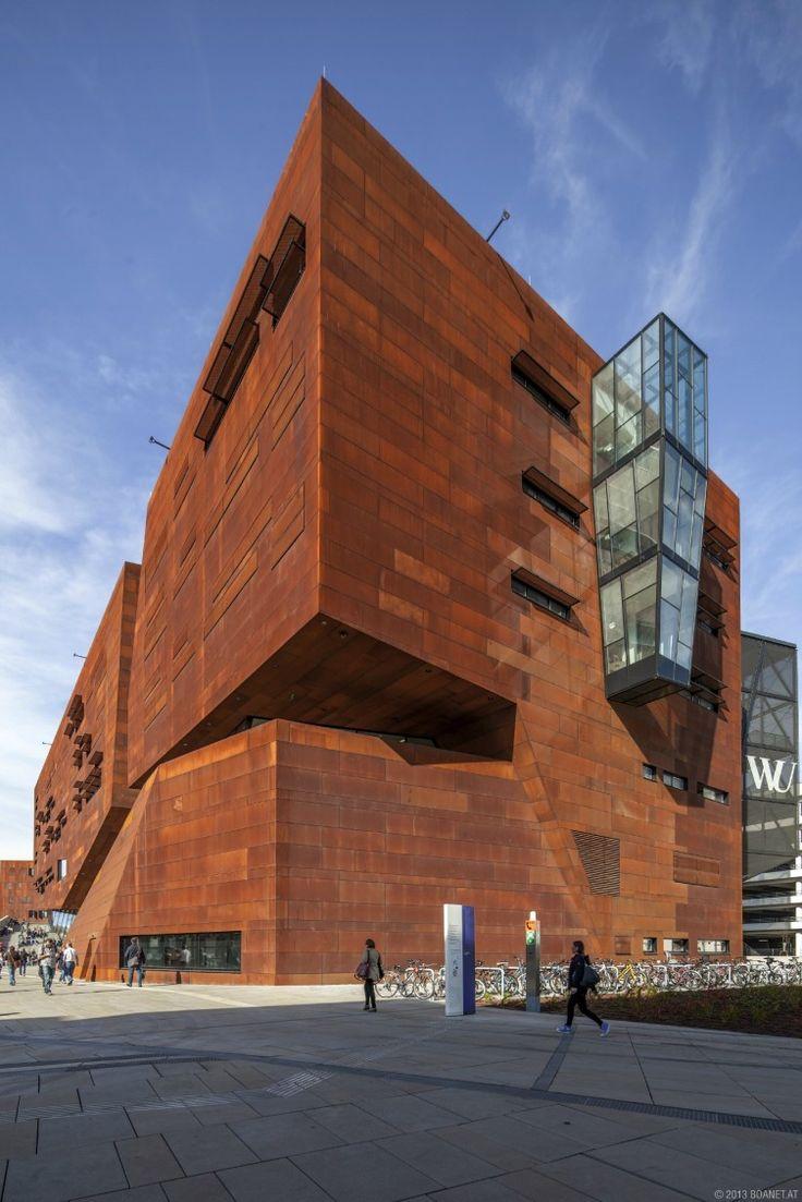 Vienna University Of Economics And Business Learning Center BUSarchitektur Architecture Interior DesignModern