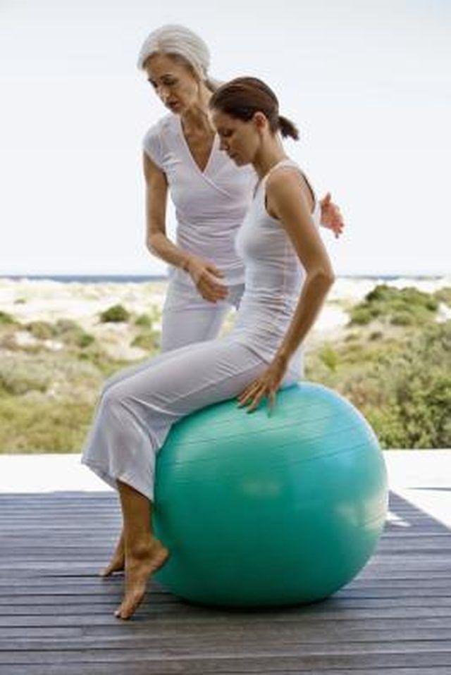 Exercise Ball Work for Lower Back Pain