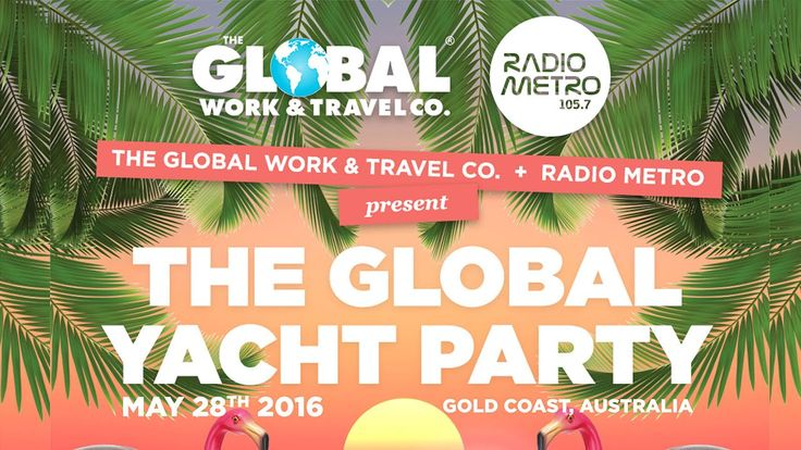 What happens when you mix a sold-out yacht, the Gold Coast's favourite local DJs, 260 people, and a travel company that likes to party? This.