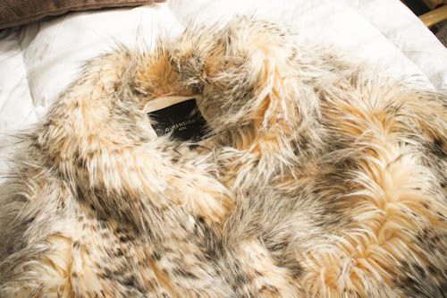 Abrigo dimensión azul #fur #fashion #clothes