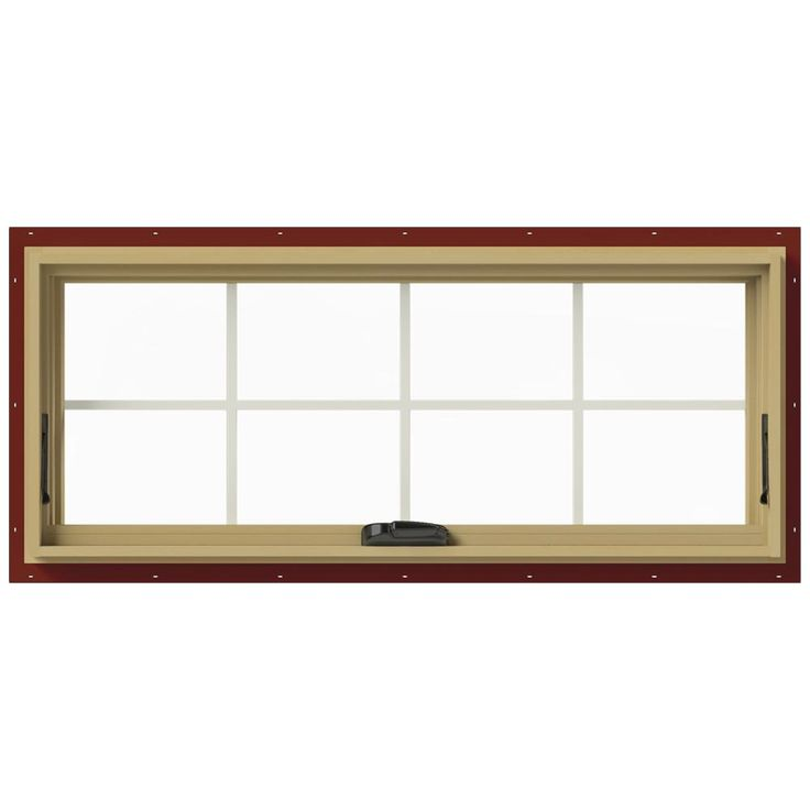 Jeld Wen 48 In X 20 In W 2500 Series White Painted Clad Wood Awning Window W Natural Interior And Screen Thdjw143300169 The Home Depot In 2020 Clad Wood Aluminum Awnings Natural Interior