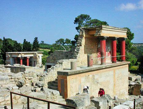 #Creta, Cidade Minóica de Knossos, Grécia
