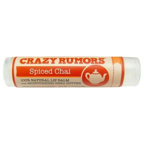 Balzám na rty Spiced Chai | Čaj, kardamon, vanilka a zázvor Crazy Rumors