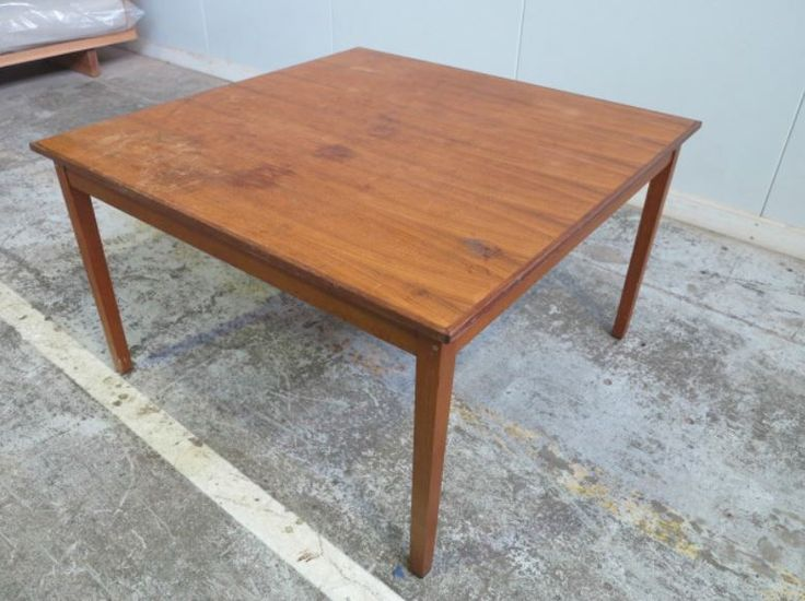 Another one of Mark Tuckey's pre-love tables before he did his thing with it and made it into a masterpiece. Want to see more? http://www.feastwatson.com.au/consumer/get-inspired/re-love-project/re-love-designers-2016/