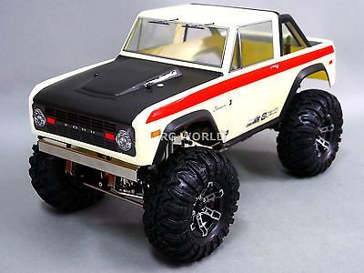 ﹩599.99. RC Truck 1/10 Gmade FORD BRONCO 4X4 Rock Crawler 2.2   -RTR-    Part - Bodies, For Vehicle Type - Truck, Fuel Source - Gas, Nitro, Scale - 1:10, Type - Truck  Truggy Parts, Compatible Scale - 1:10,