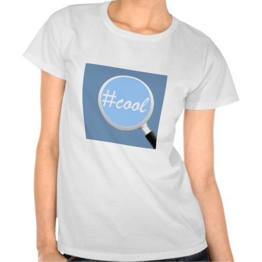 This is called the 'Social Media Search' T-Shirt. #COOL is Magnified when you're wearing this tee! Grab it from our store on Zazzle and get it shipped fast to wherever you are!