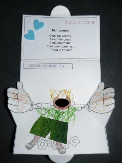 Blog de lilou :Activités diverses d'une assistante maternelle, Carte personnalisée