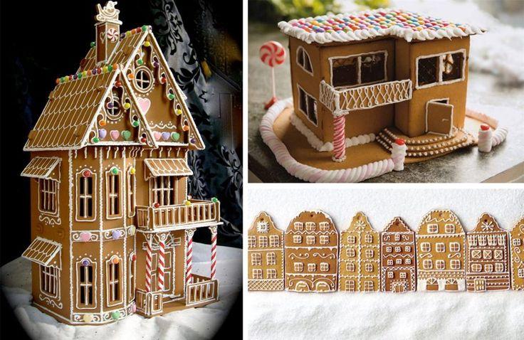 36 helt fantastiska pepparkakshus med kristyr och godis
