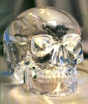 Mitchell - Hedges Crystal Skull. One of the ancients. Engineers at Hewlett-Packard studied this artifact and determined that current human technology could not reproduce such a thing.
