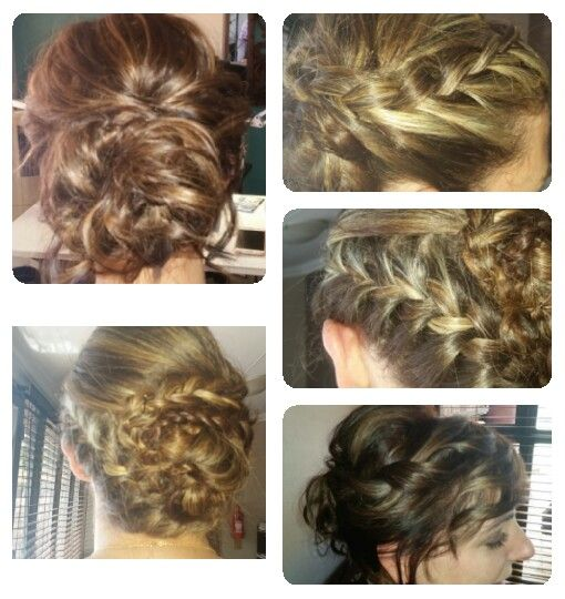 upstyles from short to long hair done by Chenene