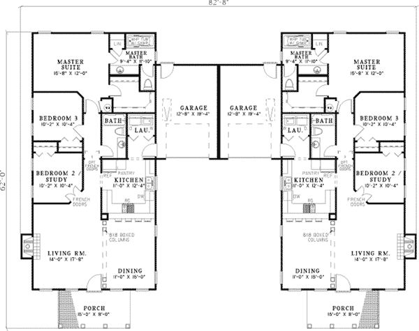 Modern cool family home plans